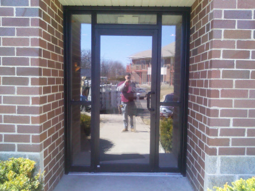 Bgs glass services llc waukesha wisconsin for Commercial entry doors