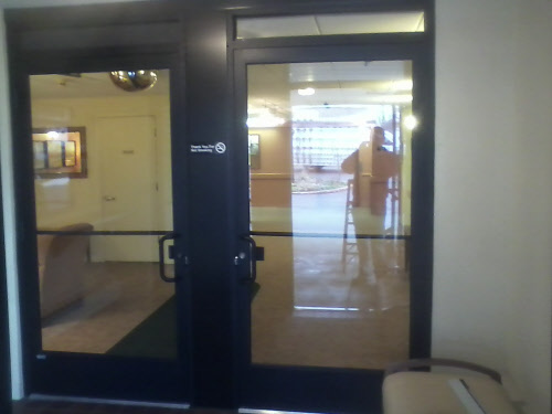 Janesville Glass Door Installation After  Cardinal Capitol