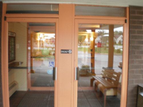 Janesville Glass Door Installation Before- Cardinal Capitol & Storefront Windows Milwaukee | Commercial Glass Repair | Window ...