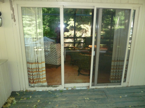 Brookfield Patio Door Installation Before
