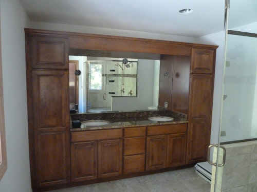 Bgs glass services llc waukesha wisconsin for Custom cut mirror