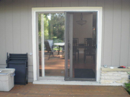 Muskego Scree Door Installation Before