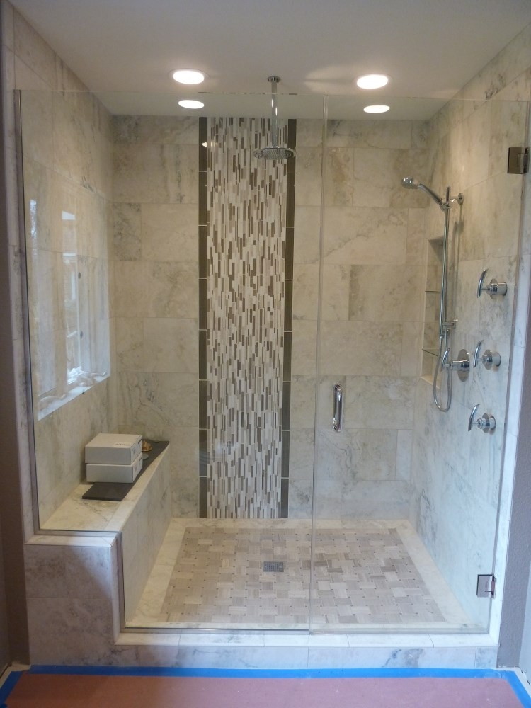 Custom Cut Shower Glass