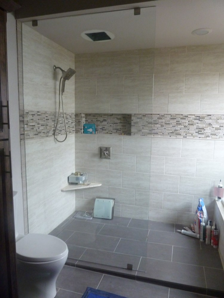 Genial Shower Glass Partition