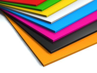 Colored Plexiglas Options