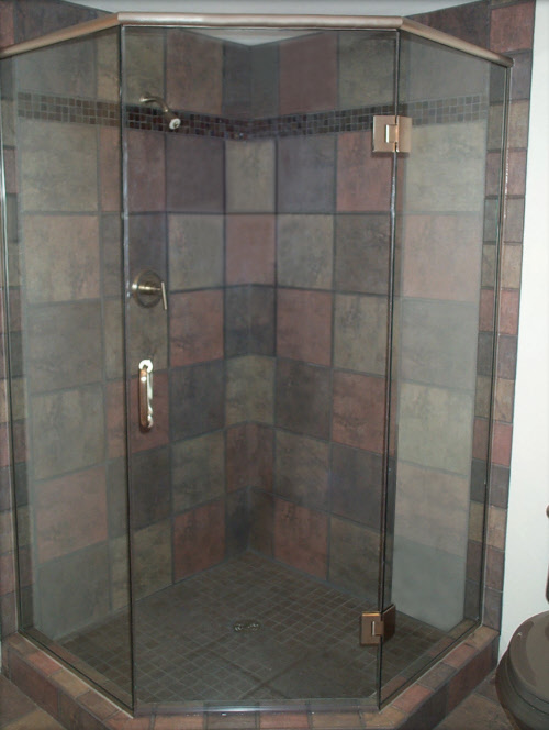 Custom Glass Shower Door Installation In Milwaukee Bgs